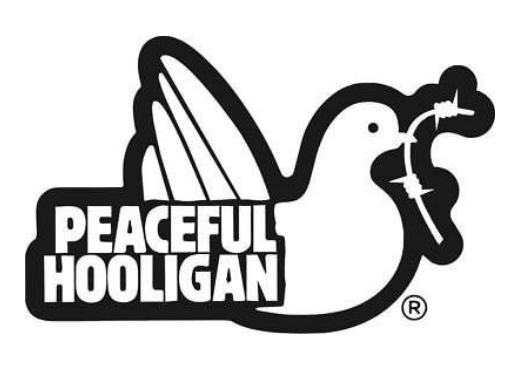 peaceful hooligan logo brenda