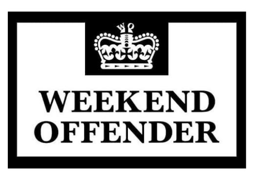 weekend offender logo brenda