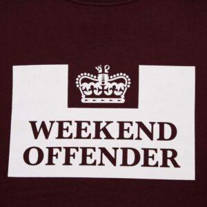 Bordo Classic dukserica Weekend Offender 2